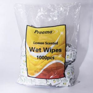 Lemon Scented Wet Wipes 6 x1000